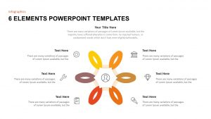 6 Elements PowerPoint Template