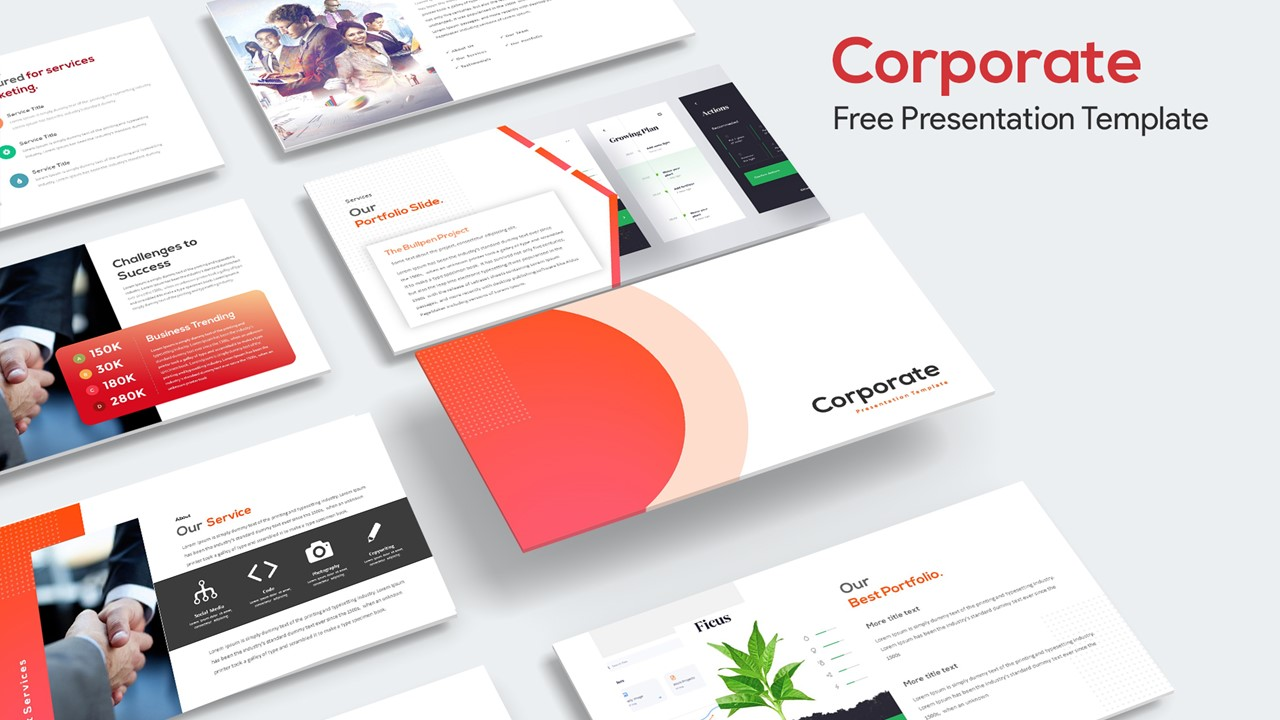 Free Corporate Presentation Template