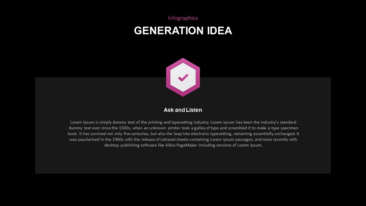 Idea generation PowerPoint