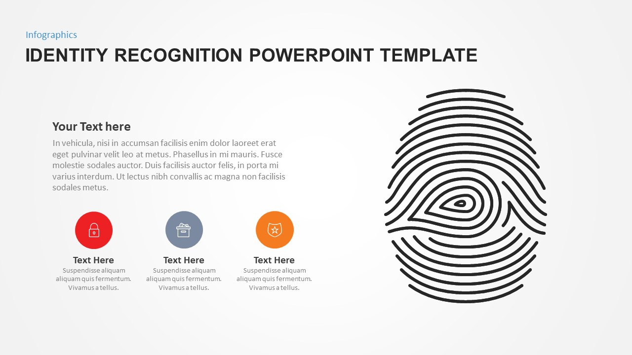 Identity Recognition Template for PowerPoint