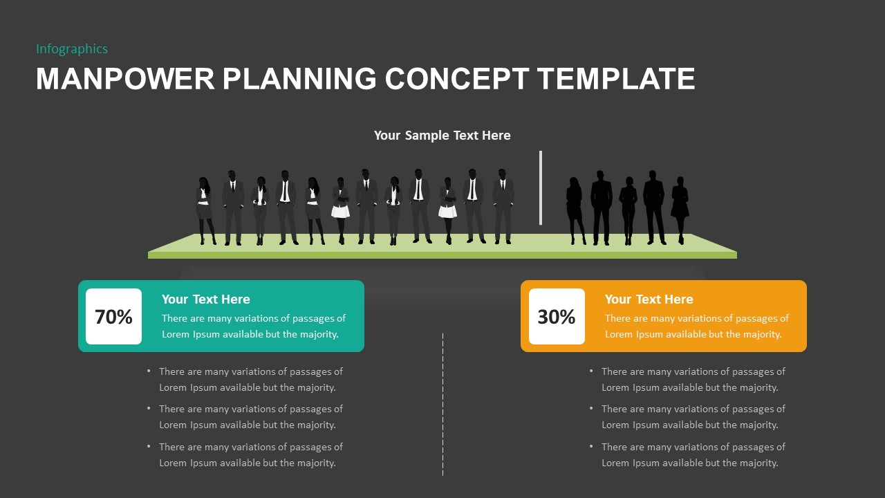 Manpower Planning Concept Template for PowerPoint