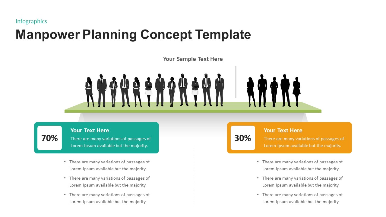 Manpower Planning Concept for PowerPoint