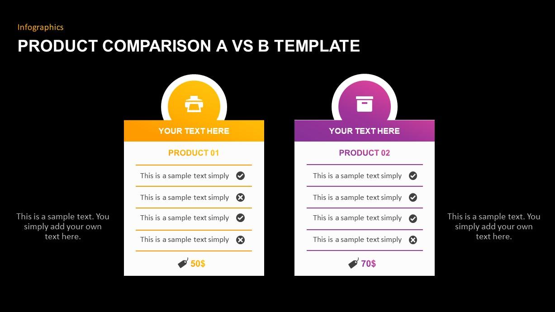 Product Comparison Template