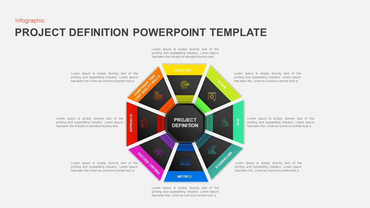 Project Definition PowerPoint Template