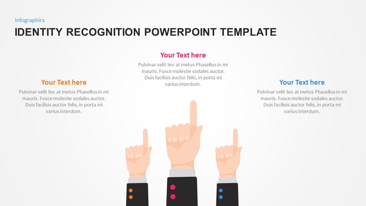 Togetherness Slide Design with Flat Hands
