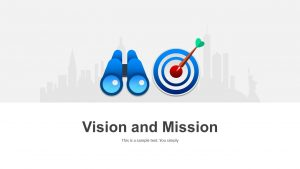Vision and Mission Template for PowerPoint
