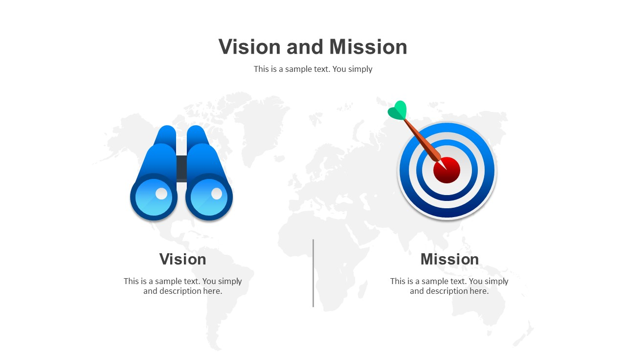 Vision and mission PowerPoint templates