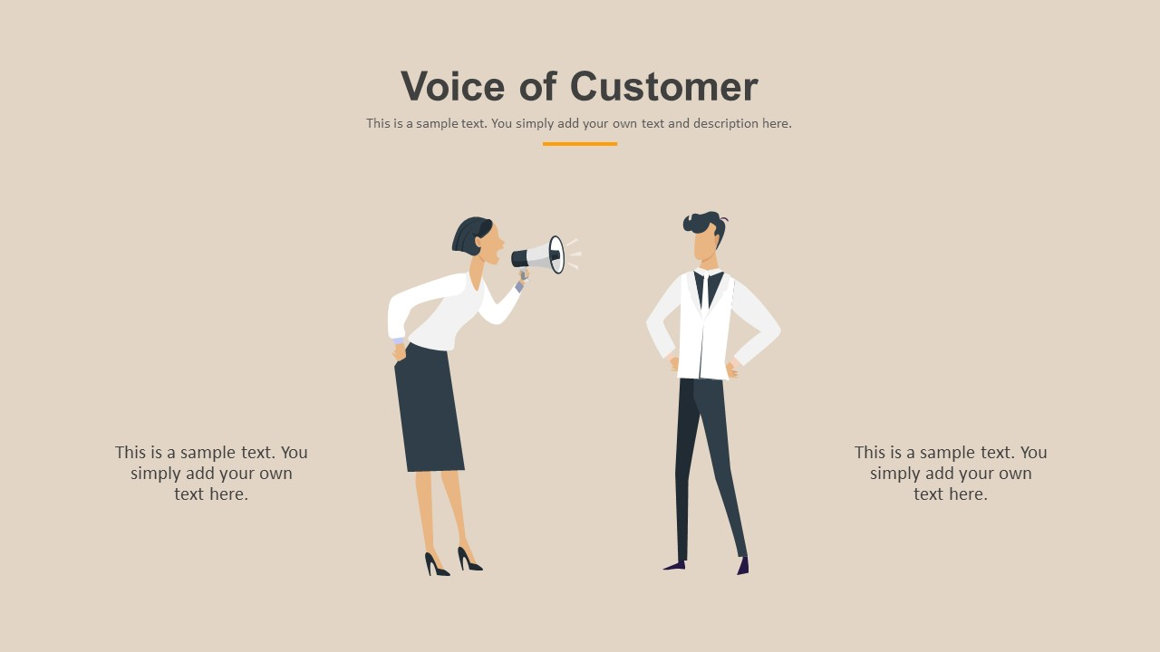 Voice of Customer PowerPoint Template