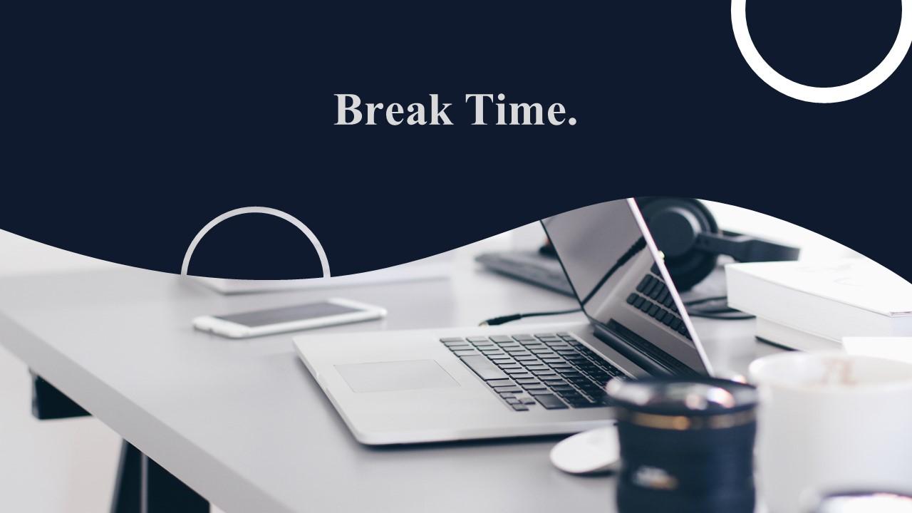 break time powerpoint slide