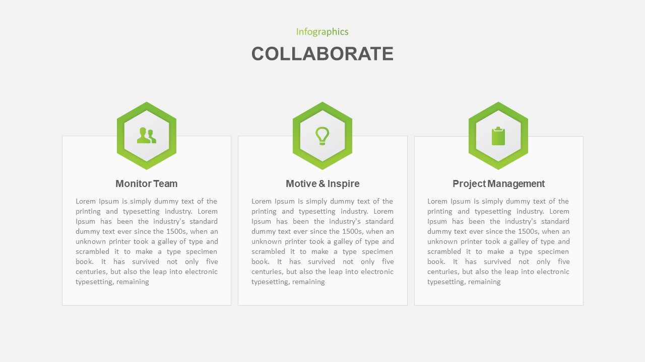 collaboration powerpoint template