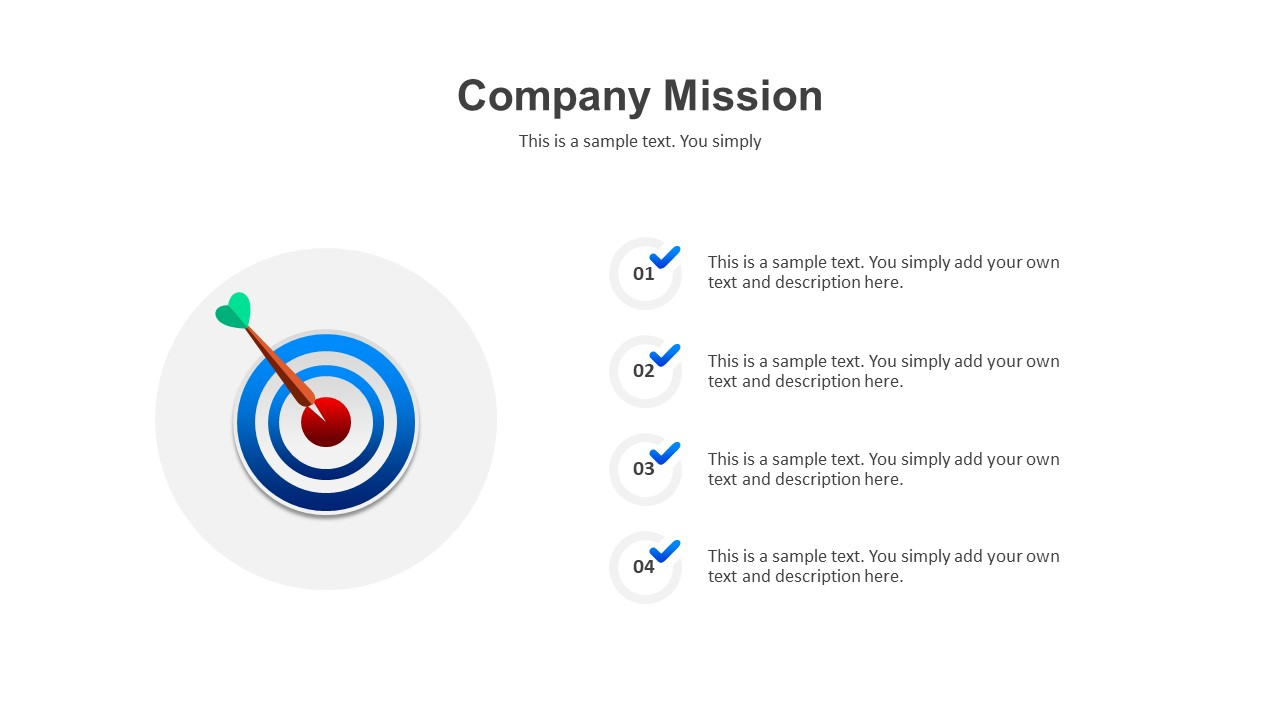 company mission template