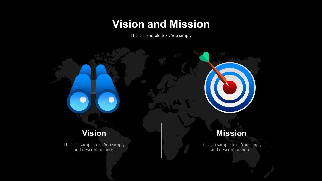 company vision and mission template