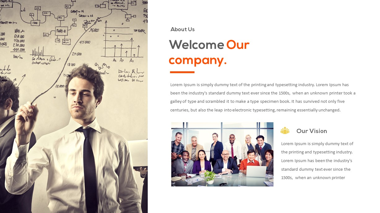 corporate video presentation template