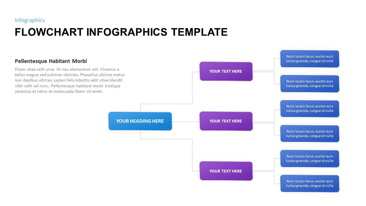 flowchart infographic design