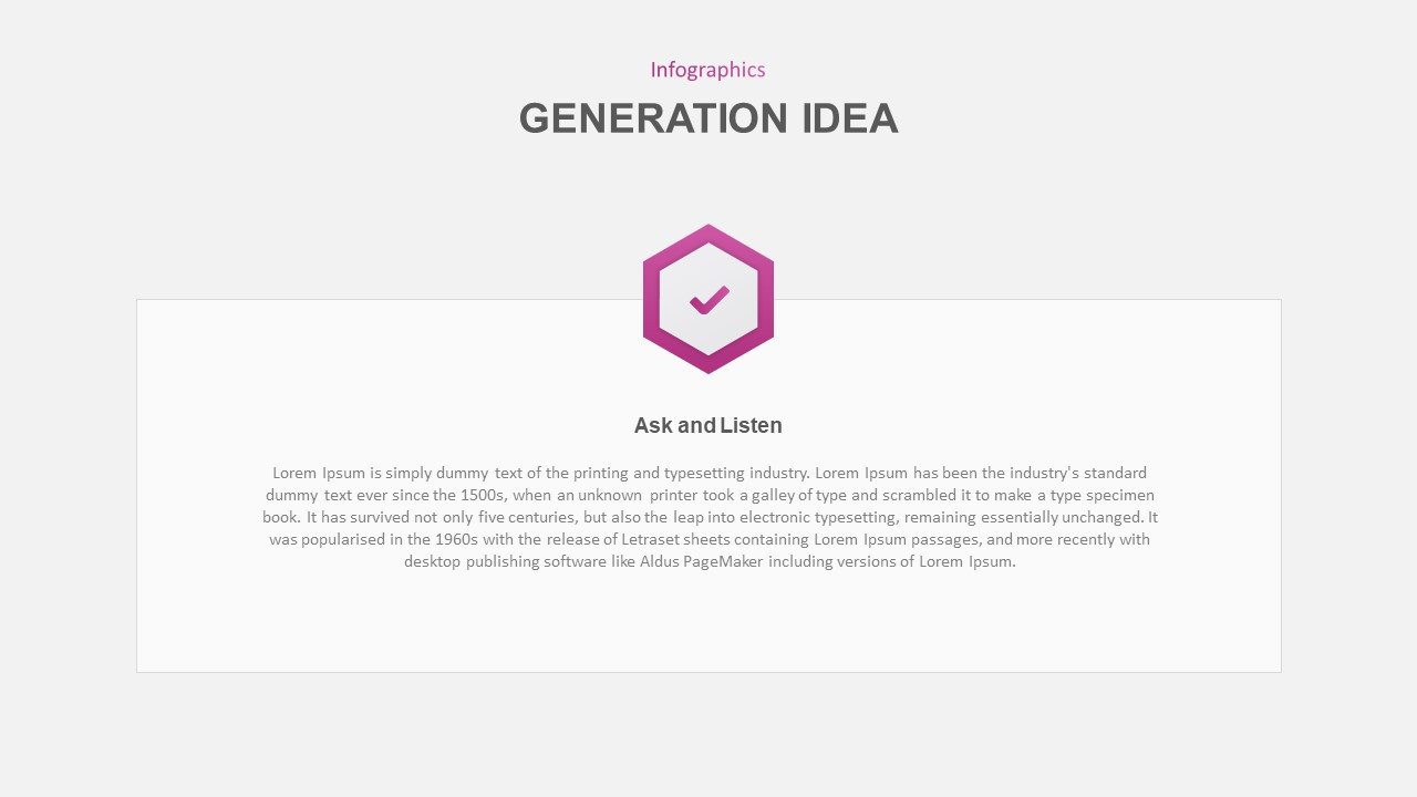 idea generation powerpoint template