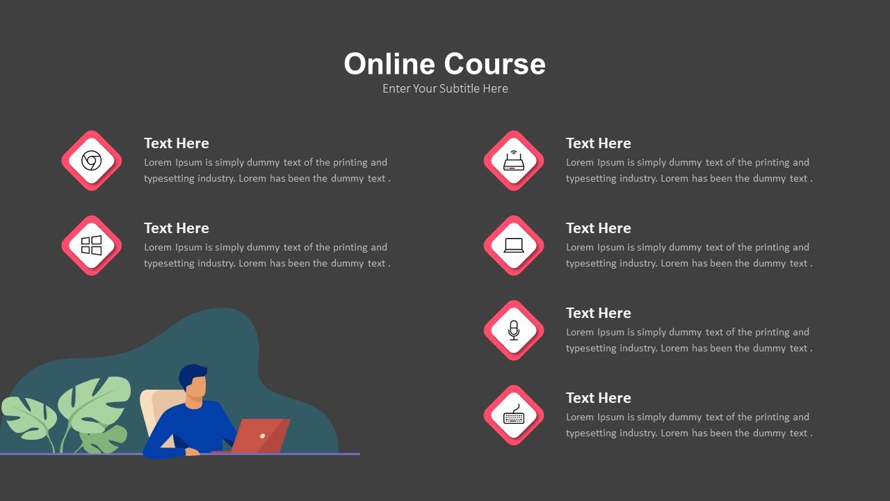 online course ppt