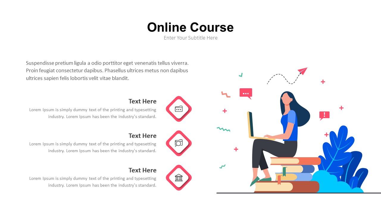 online education powerpoint