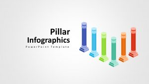Pillars Infographic Template for Presentations