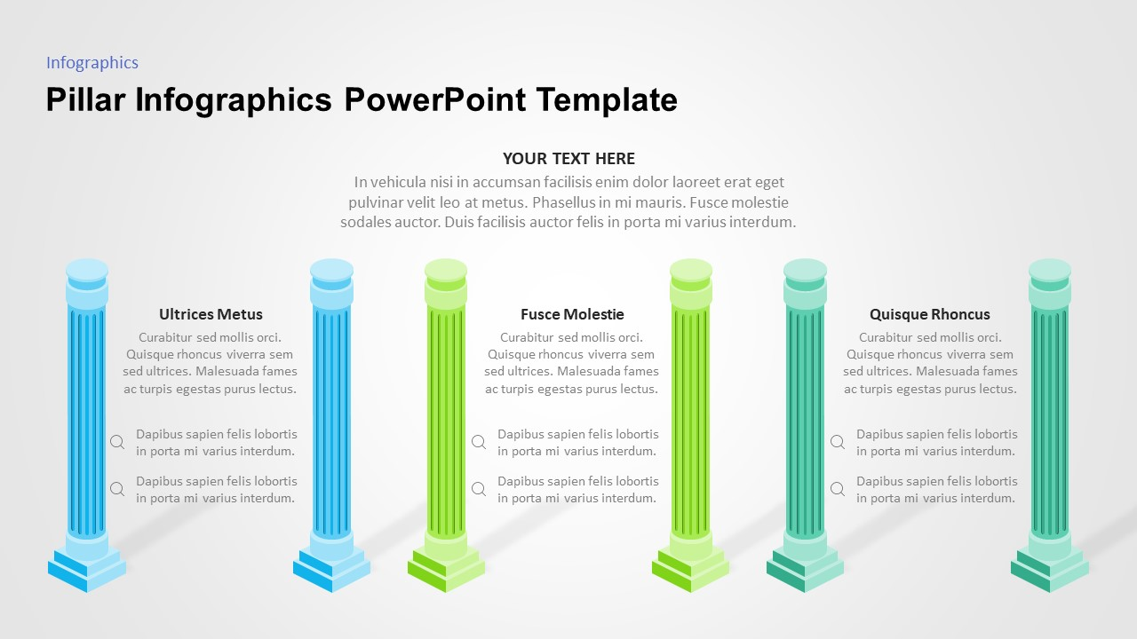 pillar powerpoint slide