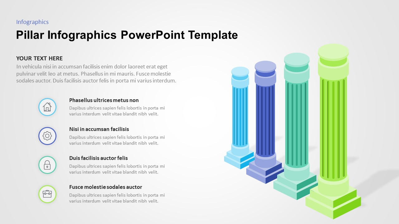 pillar powerpoint template