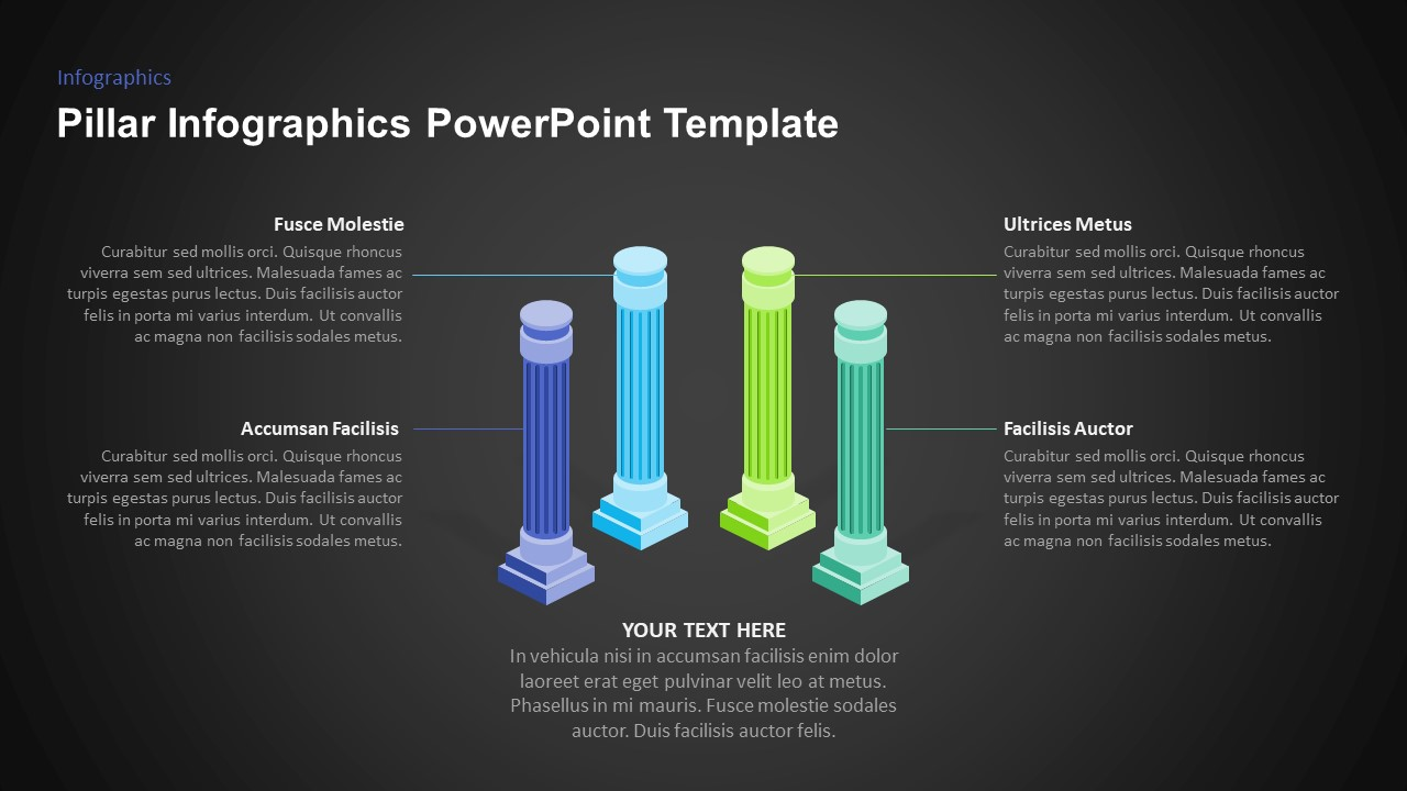 pillars for powerpoint presentation