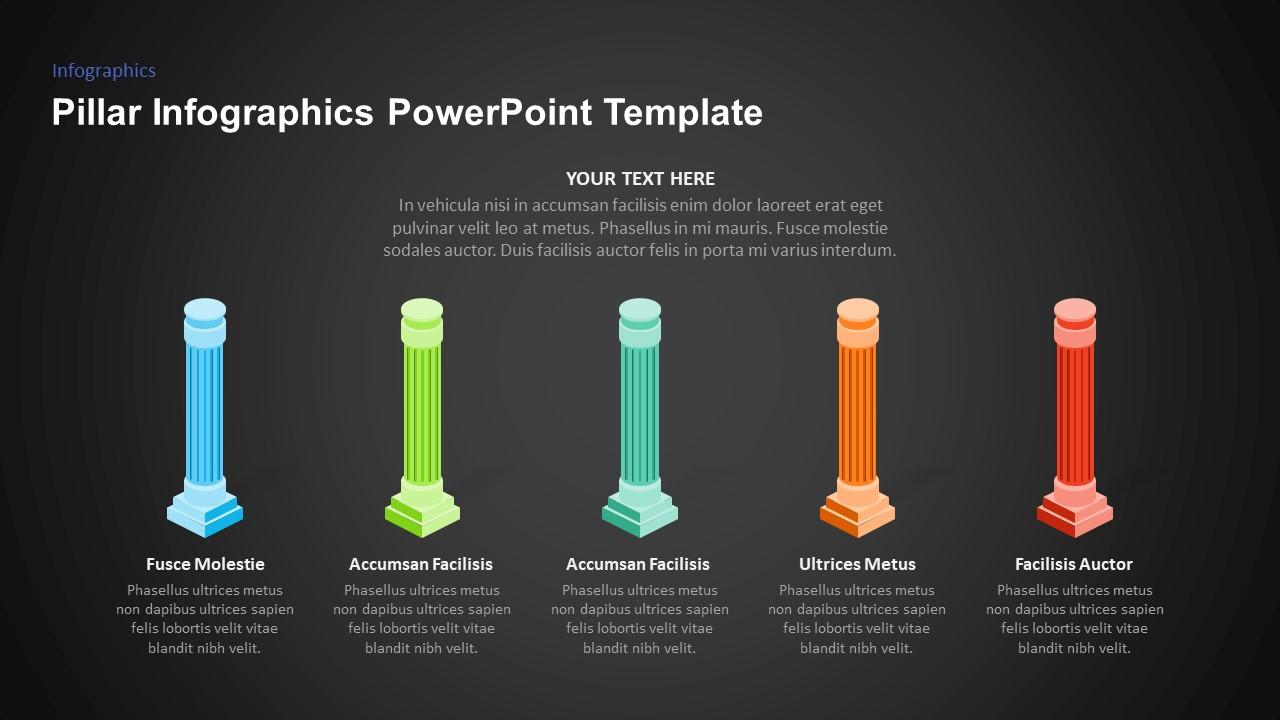 pillars infographic