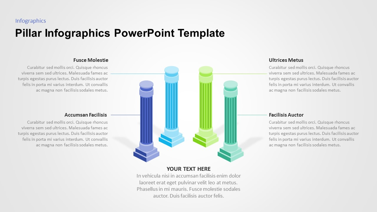 powerpoint pillar diagram