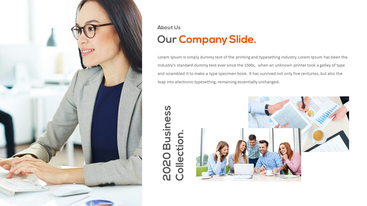 powerpoint template corporate presentation