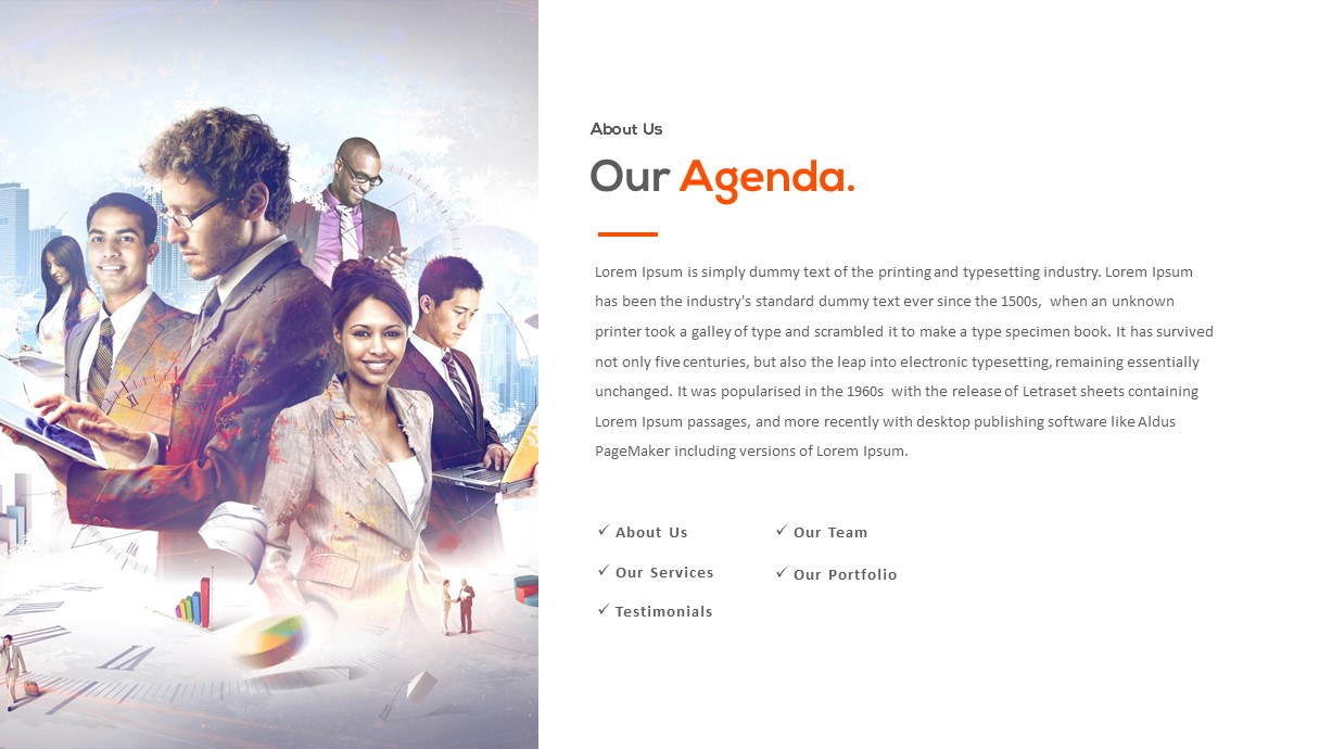 powerpoint template for corporate presentation