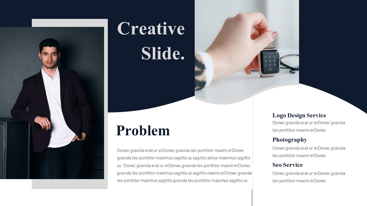 problem solving powerpoint template for company