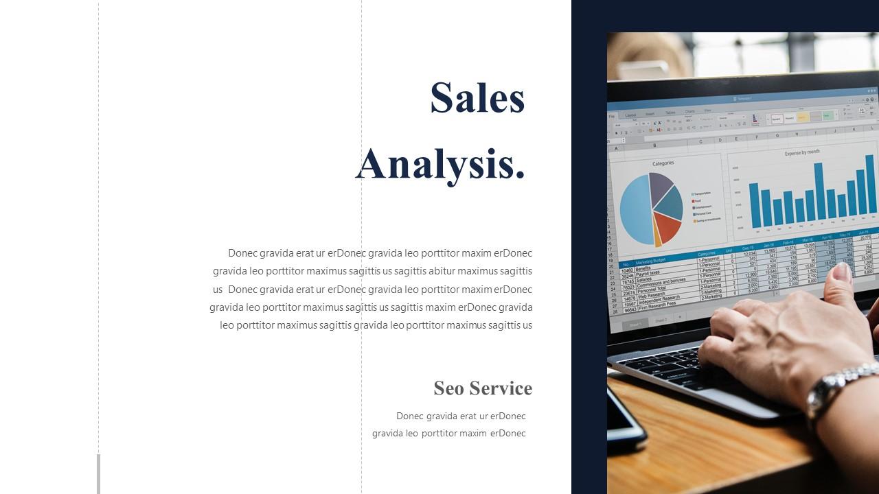 sales analysis PowerPoint templates