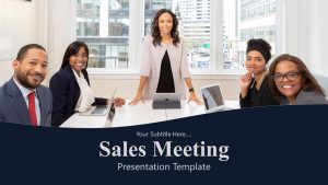 Sales Meeting PowerPoint Template