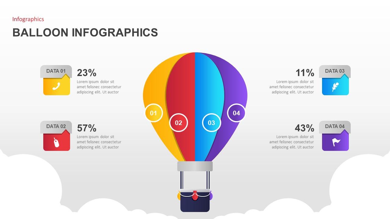 Balloon Data PowerPoint Template