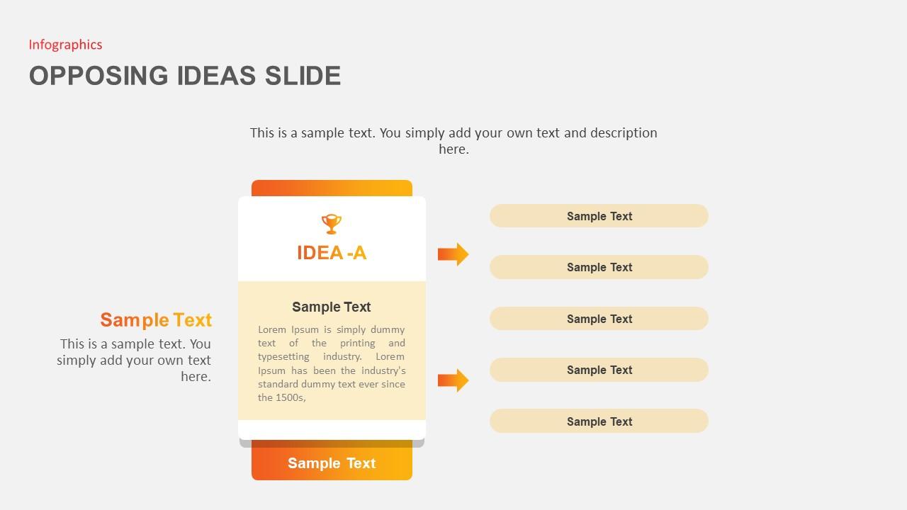 Opposing Ideas Slides