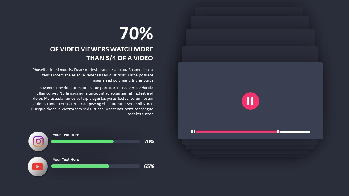 Video Marketing templates