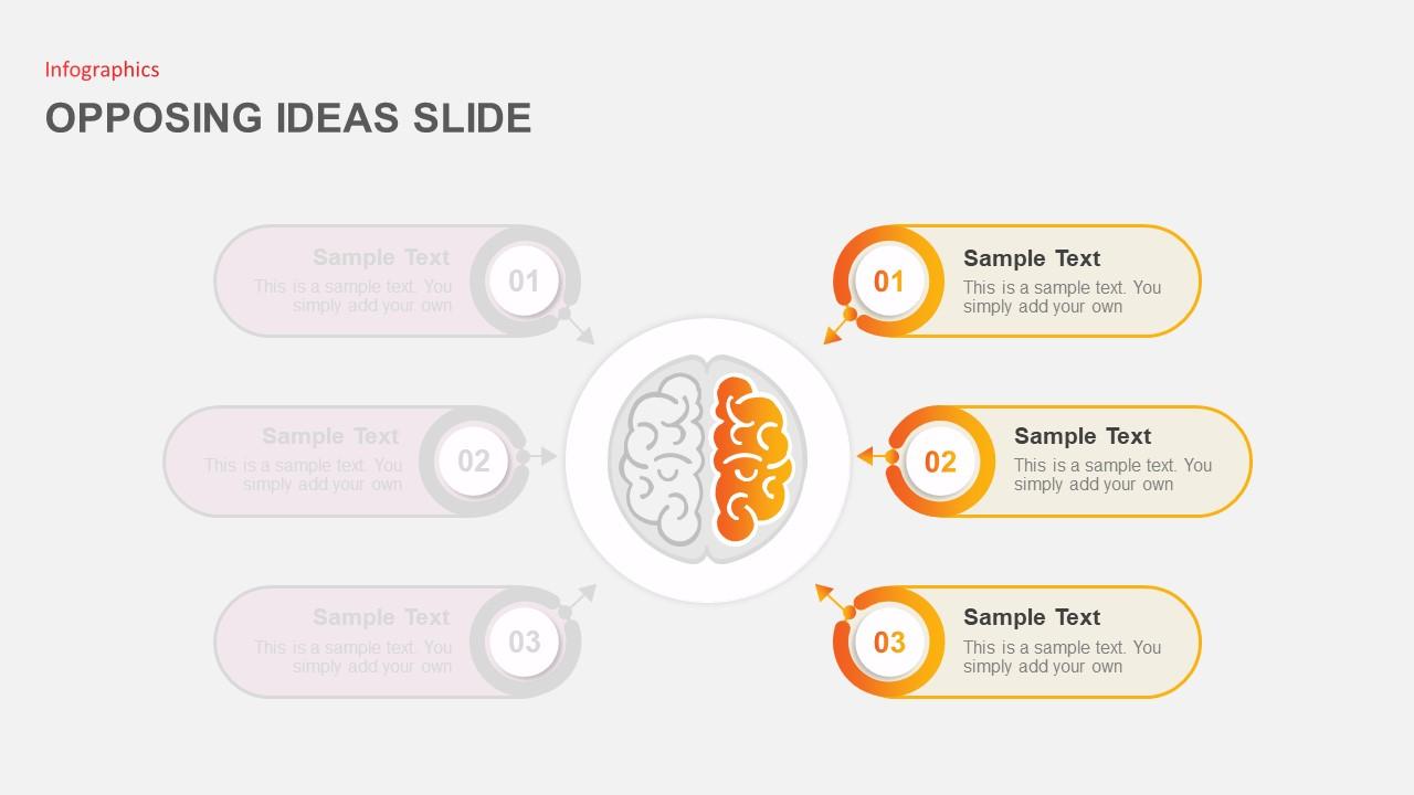 powerpoint-slide-opposing-ideas-yellow