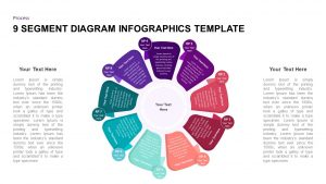 9 Stage Diagram Infographics Template