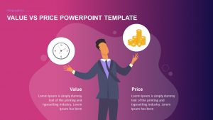 Value Vs Price Powerpoint Template