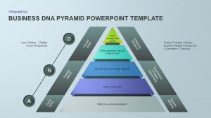 Business DNA Pyramid PowerPoint Template