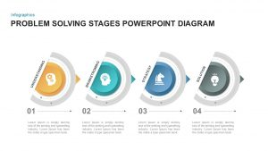 4 Step Problem Solving PowerPoint Template