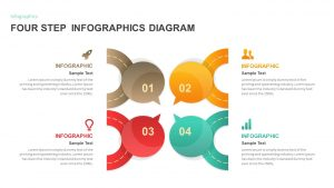 4 Step Infographic PowerPoint Template