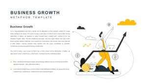 Business Growth Metaphor PowerPoint Template