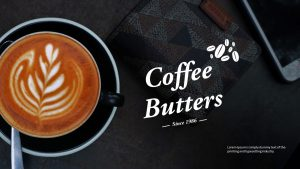 Coffee Butter PowerPoint Template