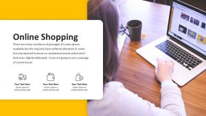 Ecommerce PowerPoint and Keynote presentation template